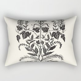 Wild Weeds Rectangular Pillow