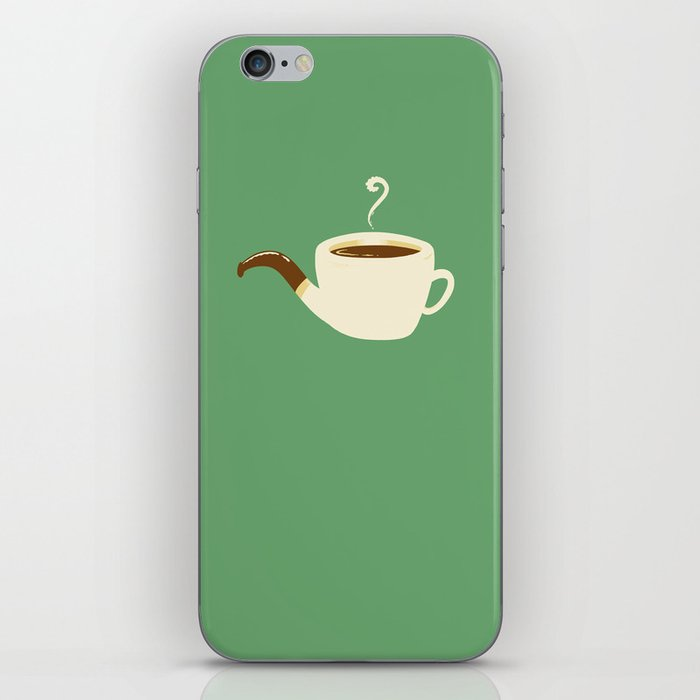 the Coffee Pipe iPhone Skin