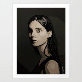 Face III Art Print
