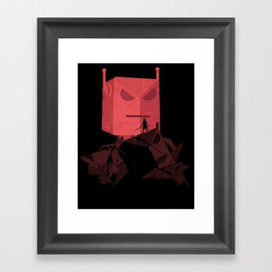 Yoshimi Framed Art Print