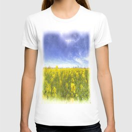 Yellow Fields Of Summer Art T-shirt
