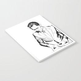 Smart casual, a portrait Notebook