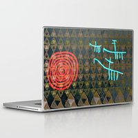 art history Laptop & iPad Skins featuring History layers by Menchulica
