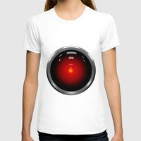 2001 a space odyssey T-shirts featuring hal 9000 Space Odyssey by Komrod