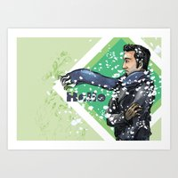 Snow Weather Art Print