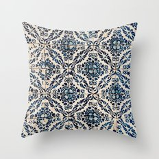 Azulejos - Portuguese painted tiles II Throw Pillow