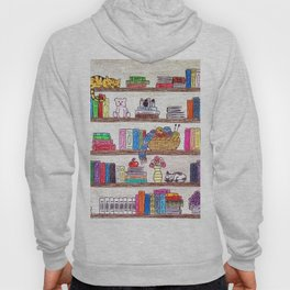 Colored booshelf! Hoody