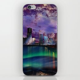 Surreal Cityscape iPhone Skin