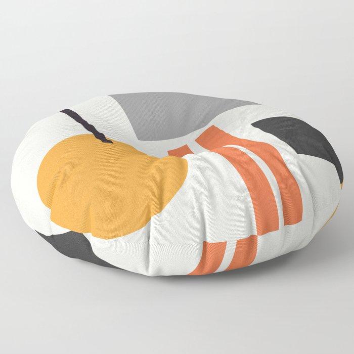 Mid Century 05 Floor Pillow