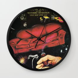 One Size Fits All by Frank Zappa and The Mothers of Invention Wall Clock