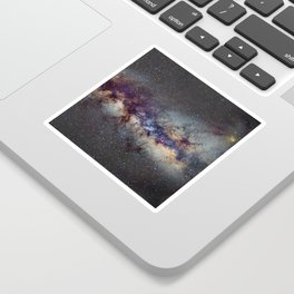 The Milky Way: from Scorpio, Antares and Sagitarius to Scutum and Cygnus Sticker