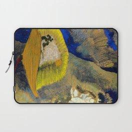 "Odilon Redon ""Vision sous-marine or Paysage sous-marin"" Laptop Sleeve"
