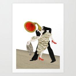 Grammohead Dancing Art Print