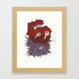UNITED COLORS Framed Art Print
