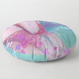 Flower Bath 4 Floor Pillow