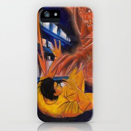 Watch out! iPhone Case