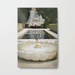 Two Moorish Fountains Metal Print