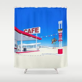 Roys Hotel Shower Curtain