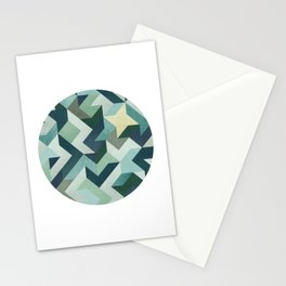 Circle Geometry Stationery Cards