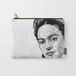 frida Lines Carry-All Pouch