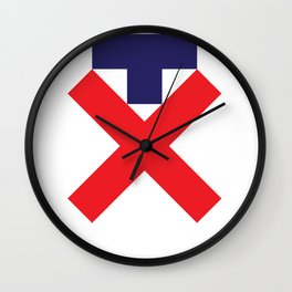 Trump. Not my pres. Classic. Wall Clock