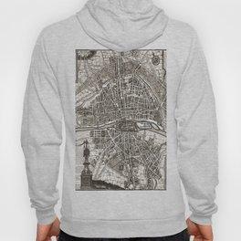 PARIS Old map Hoody