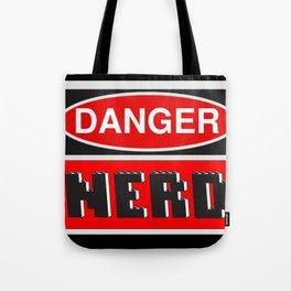 Danger Nerd by Chillee Wilson Tote Bag