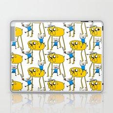 Adventure Time - Jake & Finn Laptop & iPad Skin
