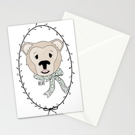 Bashful Bear Stationery Cards