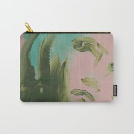 Looking At You, in Pink Carry-All Pouch