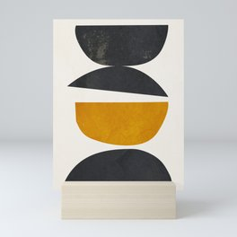 abstract minimal 23 Mini Art Print