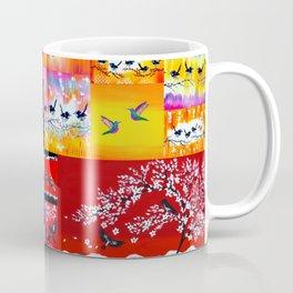 mainly red Coffee Mug