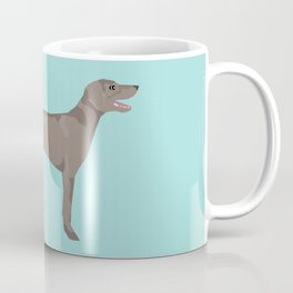 weimaraner funny farting dog breed pure breed pet gifts Coffee Mug
