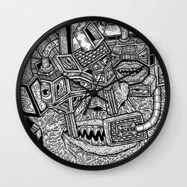 Geometric Mutations Wall Clock