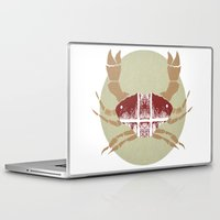 crab Laptop & iPad Skins featuring Crab by tangledribbons