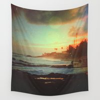 paradise Wall Tapestries featuring Paradise by Daniel Montero