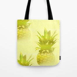 Pineapples Yellow Background #decor #society6 Tote Bag