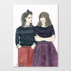 Sessun Girls Canvas Print