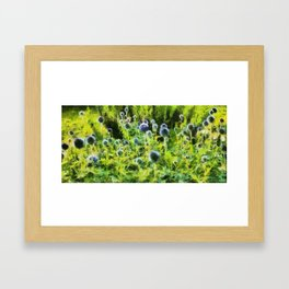 French Blue Framed Art Print