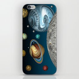 To The Moon And Beyond iPhone Skin