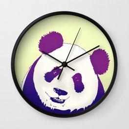 Smiling Panda Wall Clock