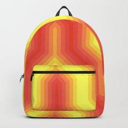 Retro Chevron Sunny Backpack