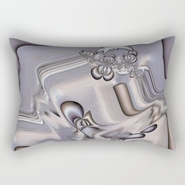 Gnarly Grey Rectangular Pillow