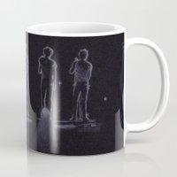 1d Mugs featuring 1D by Jen Eva
