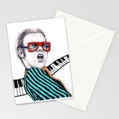 Vintage Elton - Analog Zine Stationery Cards
