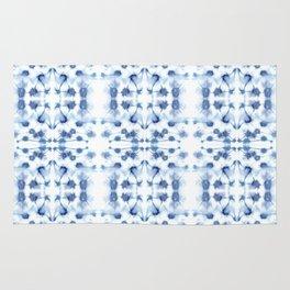 Mirror Dye Blue Rug