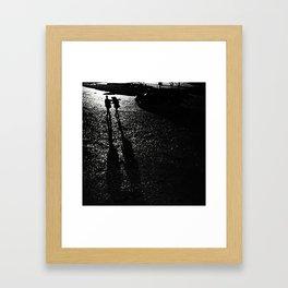 Leaving Is Easy Framed Art Print
