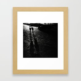 Leaving Is Easy Framed Art Print