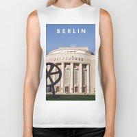 theatre Biker Tanks featuring BERLIN OST - VOLKSBÜHNE - Theatre by CAPTAINSILVA