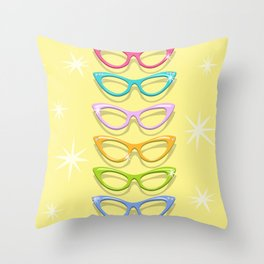 Make A Spectacle Of Yourself Throw Pillow